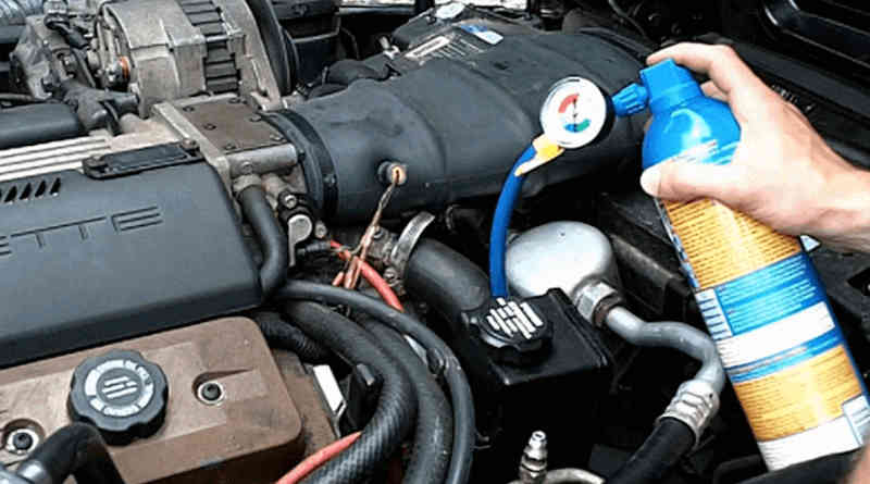 Selang AC Mobil Bocor