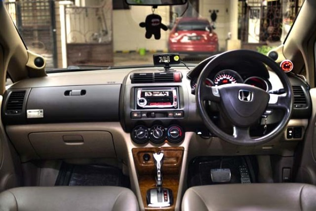 interior honda city vtec gd8